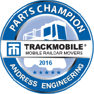 trackmobile parts distributor of the year 2017