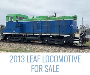 2013 LEAF Locomotive for Sale