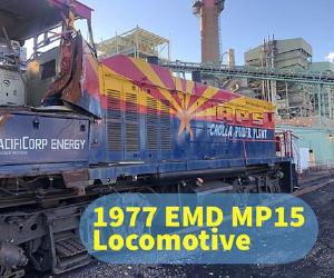 1977 EMD MP15 Locomotive for Sale