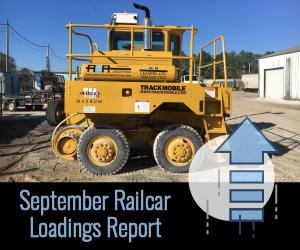 September Railcar Loadings