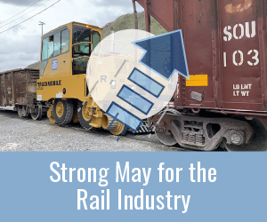 May 2021 in the Rail Industry
