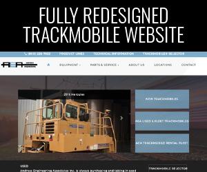 Redesigned Trackmobile Website