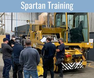 Trackmobile Spartan Training